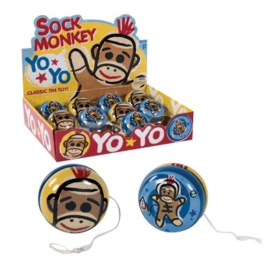 Sock Monkey Yo-Yo - 1