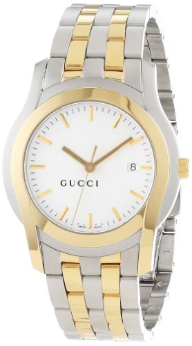 Gucci Men's YA055214 G-Class Steel and Gold-Plated Watch