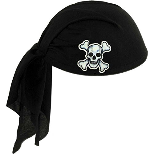 Skull Pirate Scarf Hat - 1
