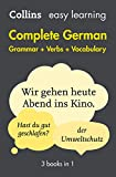 Easy Learning Complete German Grammar, Verbs and Vocabulary (3 books in 1) (Collins Easy Learning German) (German Edition)