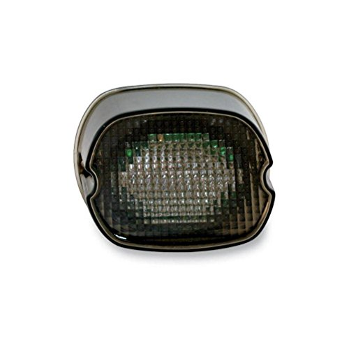 Custom Dynamics GEN2-LDW-S-B License Plate Light (Black-Out LED Laydown Taillight With for 1999-2016 Harley-Davidson Models) (2013 Road Glide Custom compare prices)