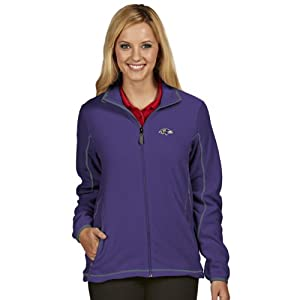 NFL Baltimore Ravens Women's Ice Jacket by Antigua