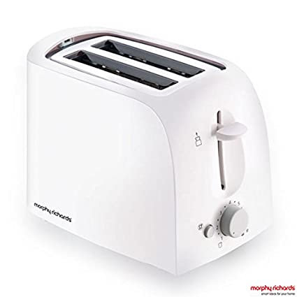Morphy Richards AT-201 2-Slice 650-Watt Pop-Up Toaster (White) By Amazon @ Rs.1,199