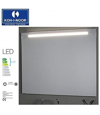 Koh-I-Noor L45751 Specchio Illuminazione Superiore LED 40 X, Cromo