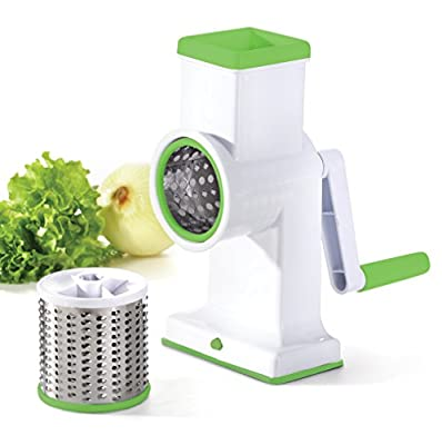 Kuuk Drum Grater for Cheese, Hash Browns, Coleslaw, Nuts, Salads, Chocolate and more