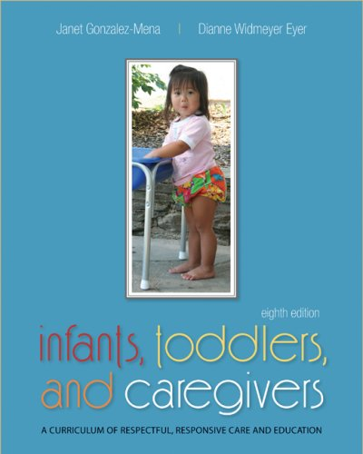Infants, Toddlers, and Caregivers:  A Curriculum of...