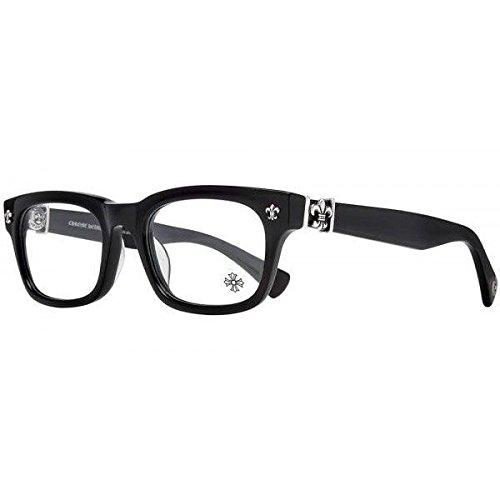 GITTIN ANY ? BLACK 49□19-145 クロムハーツ アイウェア 眼鏡