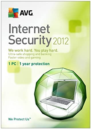 AVG Internet Security 2012 1 User - 1 year