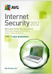 AVG Internet Security 2012 1 User - 1 year
