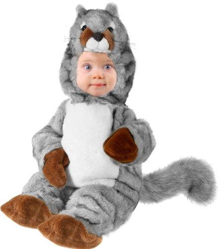 baby squirrel halloween costume size6 12months