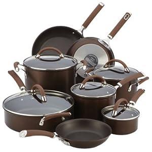 Circulon Premier Professional 13-piece Hard-anodized Cookware Set Chocolate Bronze... by Circulon