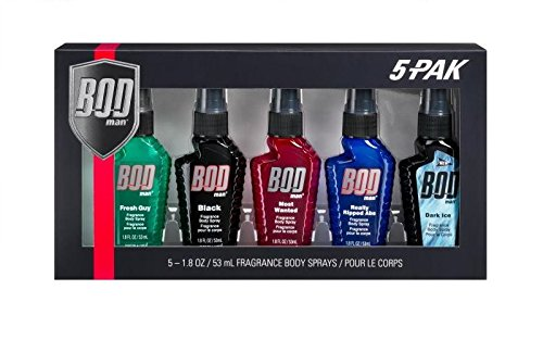 Bod Man 5 Piece Gift Set