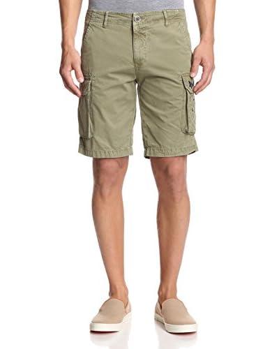 Desigual Men's Man Solid Cargo Shorts