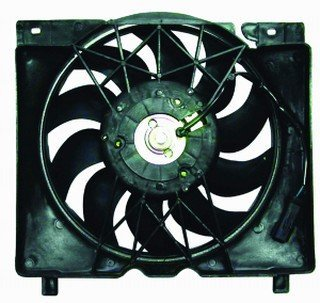 QP A0728-a Jeep Cherokee XJ Replacement AC A/C Condenser Radiator Cooling Fan/Shroud Assembly (Jeep Xj Fan Shroud compare prices)