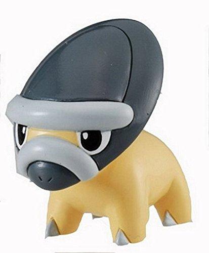 """Takaratomy Shieldon (MC-109): Pokemon Monster Collection 2"""" Mini Figure - 1"""