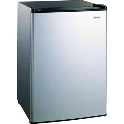 Magic Chef 4.4 Cu Ft Refrigerator Stainless,