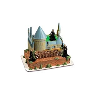 Harry Potter Cake Decorating Kit Topper : Amazon.com: Harry Potter Castle Cake Decorating Kit: Toys ...