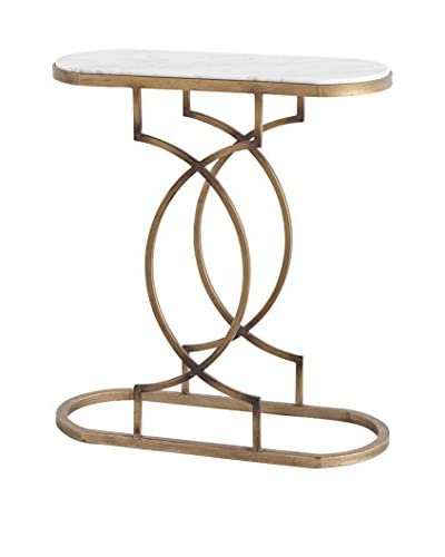 Mercana Carrota Luxe Side Table, Gold As You See