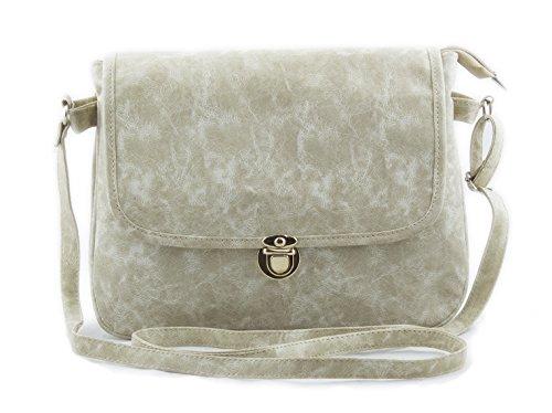 f4a3dc4fc1 Buy Voaka Women s Sling Bag (White