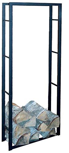 Xxl Kaminholzregal Metall 150cm Kaminholzstander Holz Korb Regal