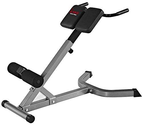 Sunny Health & Fitness SF-BH6504 Hyperextension Roman Chair