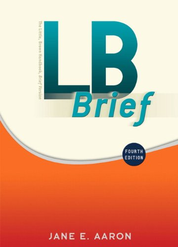LB Brief with Tabs (4th Edition) (Aaron Little, Brown...