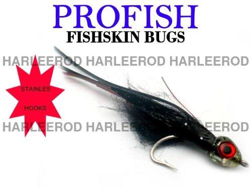 ProFish Big Game Fishing Lure 5 in Fishskin Fly Black Widow FBS-16