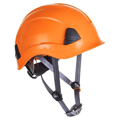 Portwest PS53ORR Elmetto PW Height Endurance, Arancione, 0