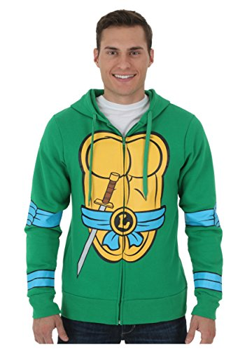 Leonardo Teenage Mutant Ninja Turtles Zip Up Hoodie