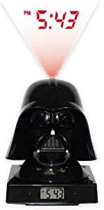 "Star Wars Merchandise - Darth Vader LED Alarm Clock (Size: 5"" x 6"")"