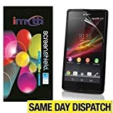 IMyth *PACK OF 3* Lcd Screen Protectors for Sony Xperia Z & Retail Packed with Cloth
