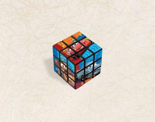 Amscan Cars 2 Party Bulk Puzzle Cube (1 Piece), Multi