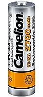 Camelion - 4 piles rechargeables ( accus ) AA / LR6 NiMH 2700mAh