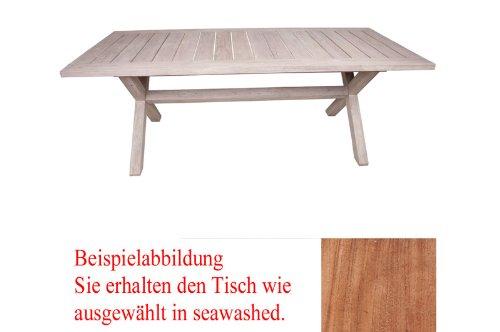 Diamond Garden Tisch Boulogne 240 x 100 natur günstig kaufen