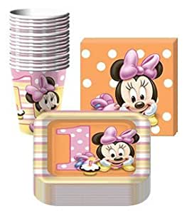 Disney minnie mouse 1st birthday party for 1st birthday party decoration packs