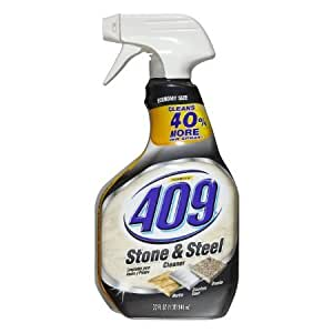 Amazon.com - Formula 409 Stone and Steel Cleaner Spray Bottle, 32
