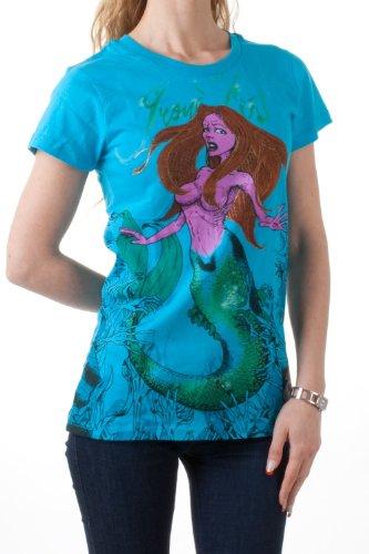 Iron Fist -  T-shirt - Collo a U  - Maniche corte  - Donna turchese S