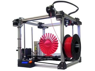 Fusion3 F306 Commercial Grade 3D Printer, Single Extruder with 1 Year Advanced Exchange Service