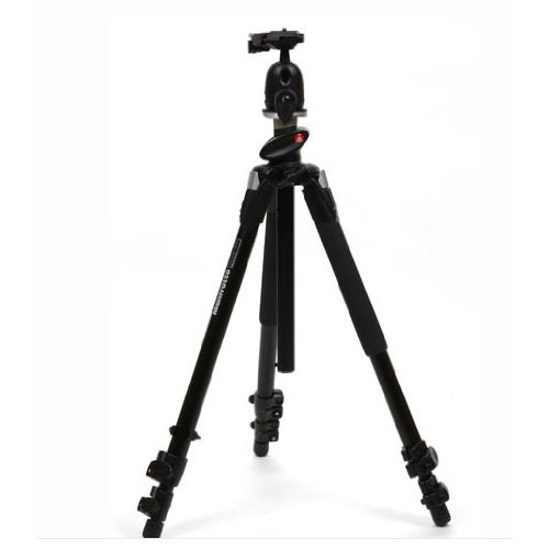 Manfrotto 190XPROB - Tripod - with Manfrotto 496RC2 Compact Ball Head