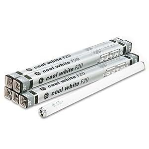"""Ge Lighting 80046 Fluorescent Light Bulb, 24"""", 20w, Cool White (Pack Of 6)"""