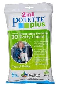 Kalencom Pottete Plus Refill Liner Value Pack - 30 ct