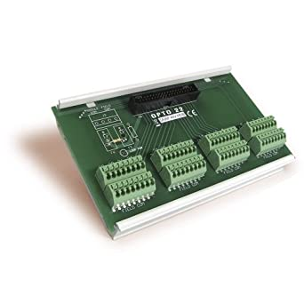 Opto 22 SNAP-AIV-HDB - Breakout Board for SNAP-AIV-32 Analog Input Module