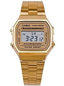 A168WG9-A Casio Gold Digital Watch - Gold / One Size