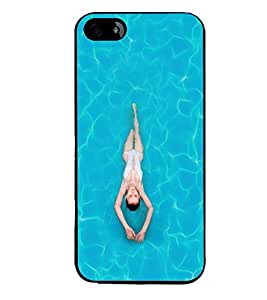 PRINTVISA Sports Swimming Case Cover for Apple iPhone 4