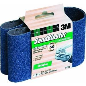 3M Company 3X24 50G Coar Sand Belt 9196 Sander - Grinder Accessories
