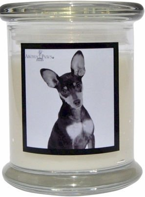 Aroma Paws 359 Breed Candle 12 Oz. Jar - Miniature Pinscher
