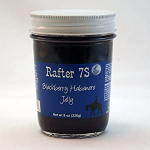 Rafter 7S Gluten Free Blackberry Habanero 8 oz Jelly by Rafter 7S