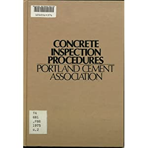 Concrete Inspection Procedures