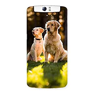 Delighted Do Kutte Back Case Cover for Oppo N1