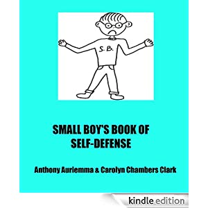 SMALL BOY'S BOOK OF SELF-DEFENSE, includes funny cartoons